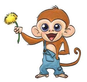 monkey-inkPencil