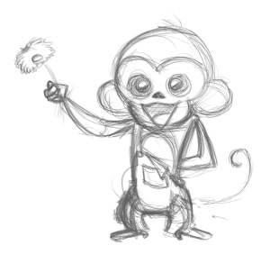 monkey-sketch