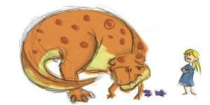 dinosaurScolding