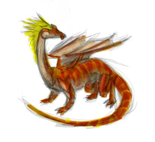 dragon-feathered