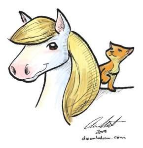 horseAndKitty