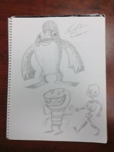 sketchbookMonsters