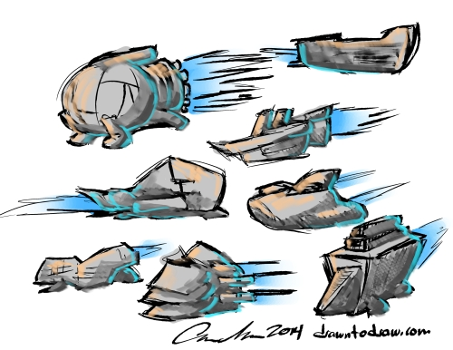 spaceship 002