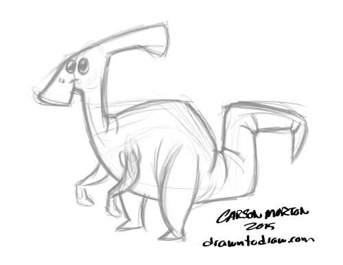 Dinosaur Duck 001.1