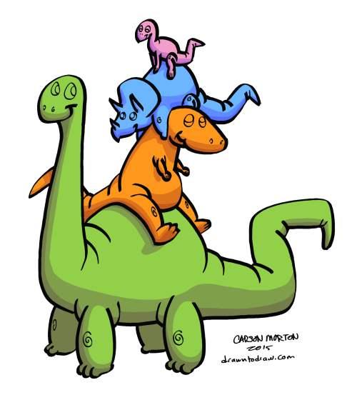 Dinosaur Stack 003