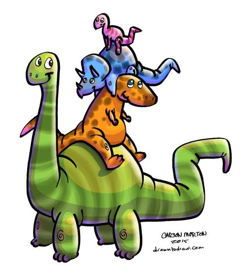 Dinosaur Stack 005