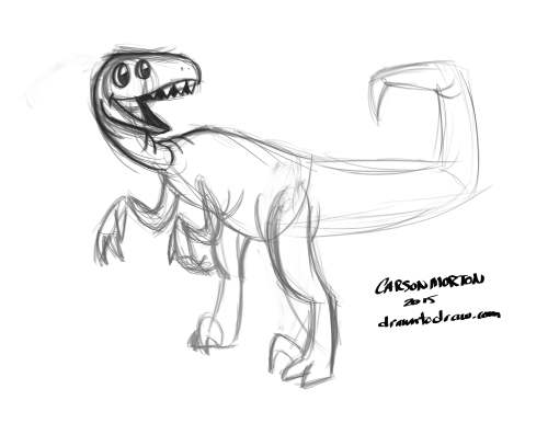 Dinosaur Raptor 001.1