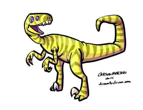 Dinosaur Raptor 001.2